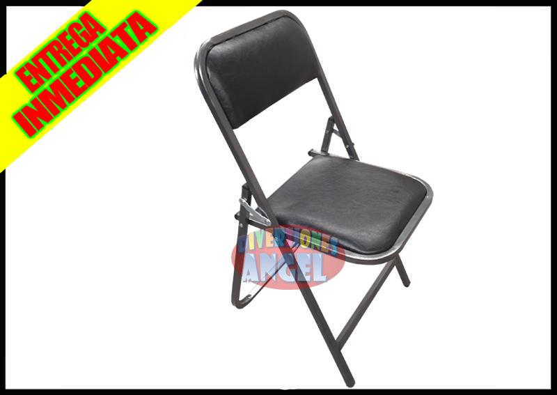 Venta de sillas plegabes acojinadas esmaltadas amartilladas for Fabrica de sillas