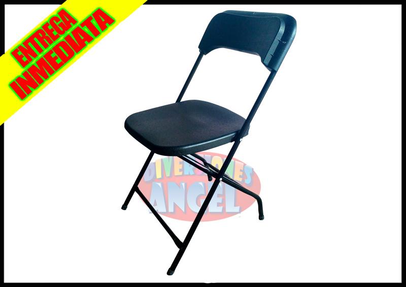 Venta de sillas plegables de plastico reforzadas for Precio de sillas plegables