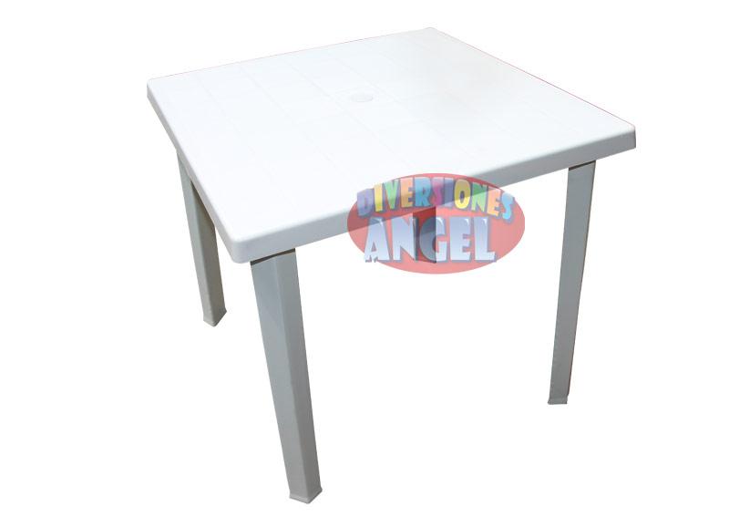 Venta de mesas cuadradas de plastico for Sillas de plastico precio