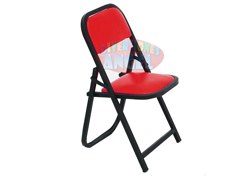 Venta de sillas acojinadas esmaltadas plegables infantiles for Sillas para rentar