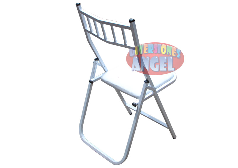 Venta de sillas plegables tiffany blancas for Precio de sillas plegables