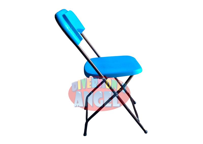 Venta De Sillas Plegables De Plastico Azul