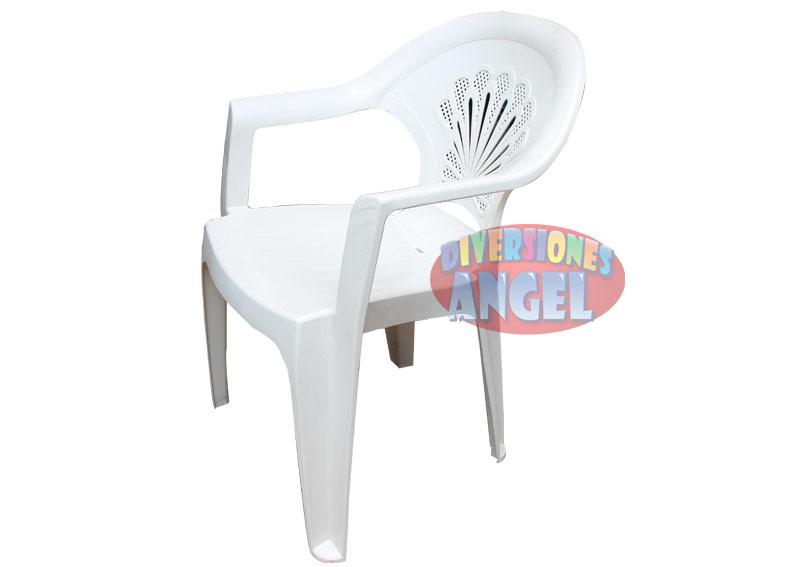Venta de silla de plastico apilable 1 for Sillas para rentar