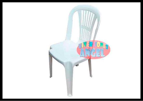 Sillas en plastico interesting como reciclar una silla for Sillas blancas apilables