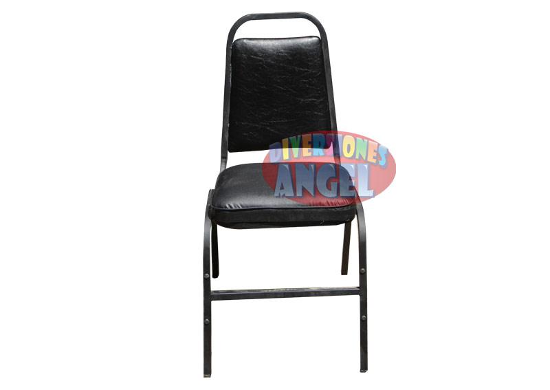 Venta de sillas acojinadas apilables esmaltadas for Sillas para rentar
