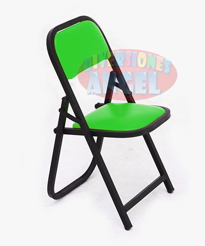 Venta de mobiliario venta de sillas venta de tablones for Silla plegable infantil