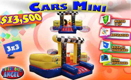 Inflable Cars Mini 3x3