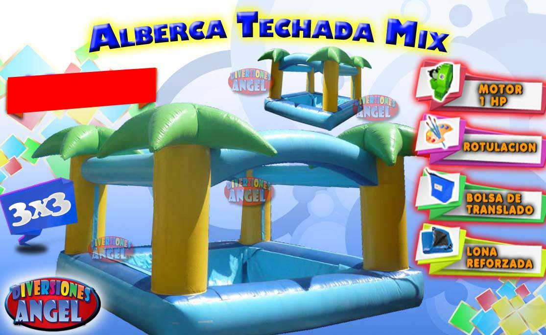 Venta De Brincolines Alberca Techada Mix
